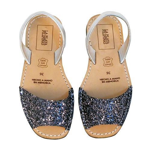 Menorquinas • Silver Glitters