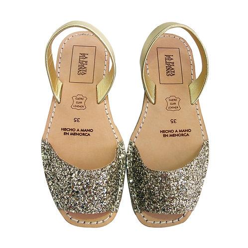 Menorquinas • Gold Glitters