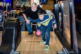 Who says you need to have full sized bowling to have fun? Our mini bowling is just as fun as traditional bowling, but at 1/2 the size. Hickory Falls is home to many games and attractions for all ages!