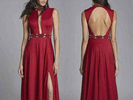 Vestido ideal para convidadas em um casamento noturno