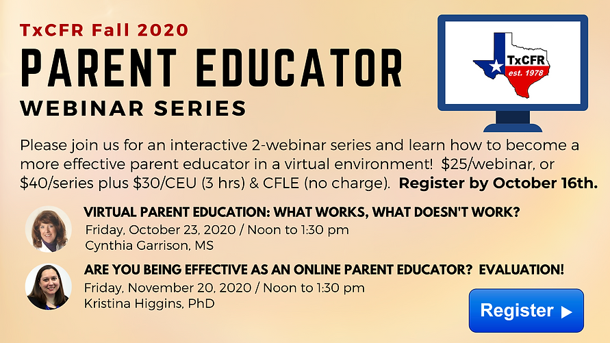 TxCFR Parent Educator Webinar Banner.png