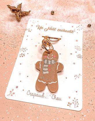 Porte clé de Noël Petit Biscuit