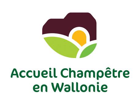 Accord de collaboration avec Accueil Champêtre en Wallonie.