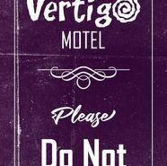 Vertigo Motel Door Hanger