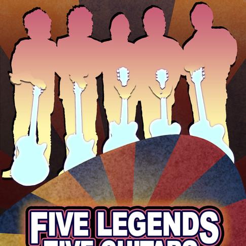 Five Legends Five Guitars