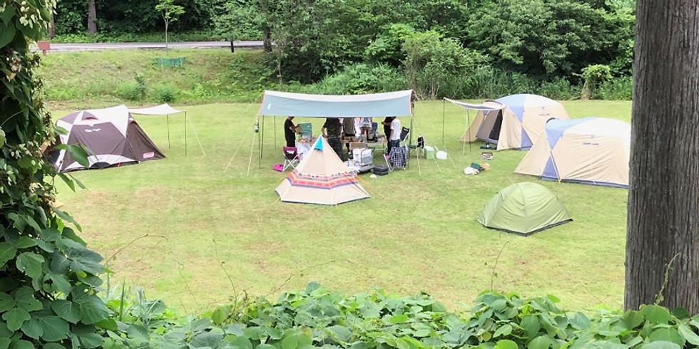 キャンプの楽校「超初心者限定!一晩で達人になれるキャンプ講座(夏)」
