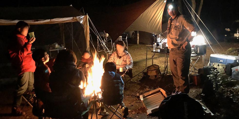キャンプの楽校 「超初心者限定!一晩で達人になれるキャンプ講座(春)」