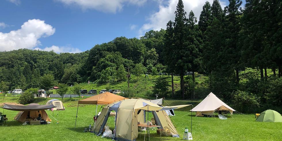 キャンプの楽校 超初心者限定!一晩で達人になれるキャンプ講座 秋バージョン