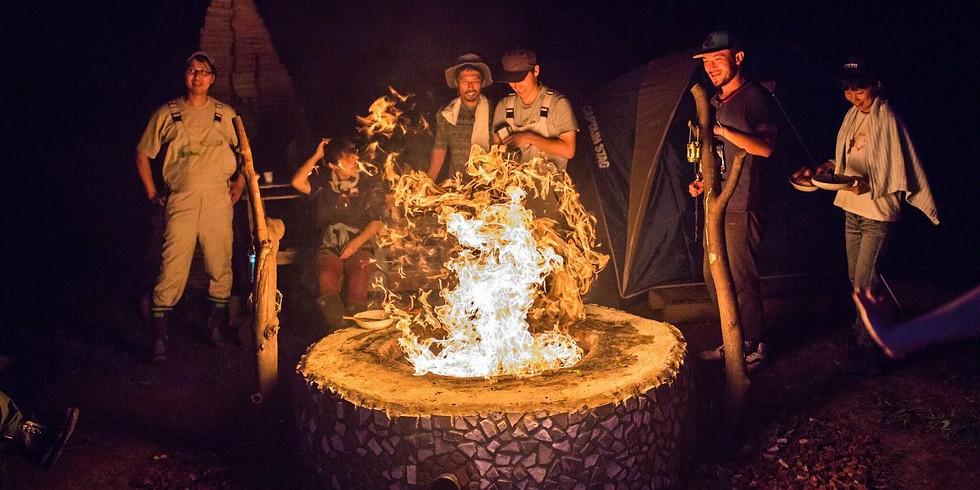 BBQ&焚き火キャンプ(11/3〜4)