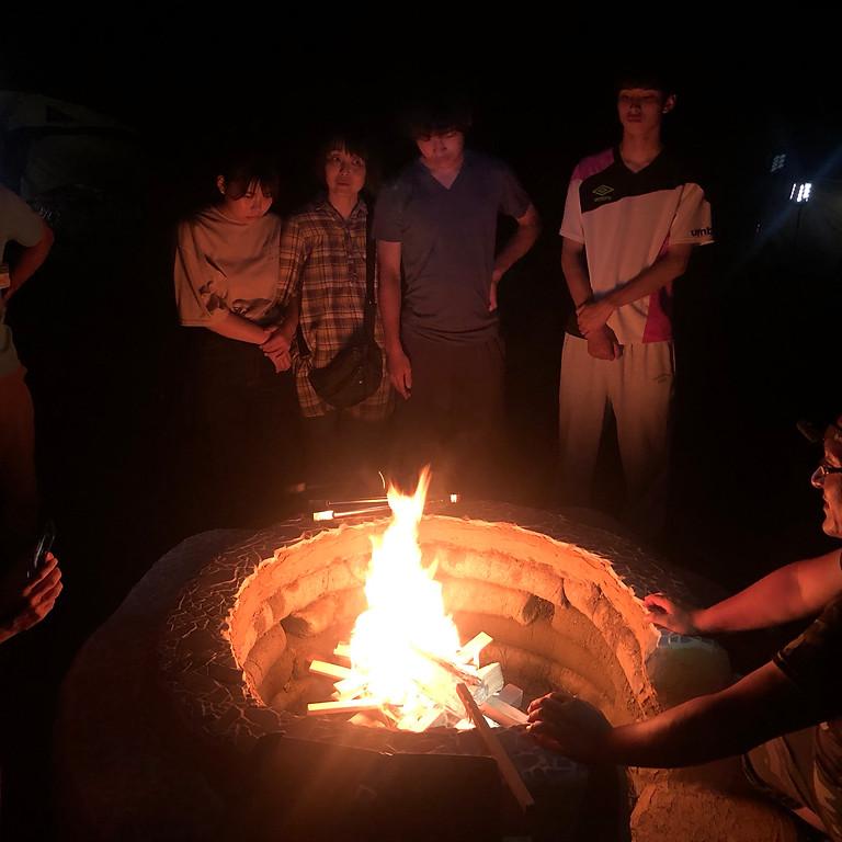 「キャンプファイヤーの世界にようこそ~みんなで作る楽しい時間~」