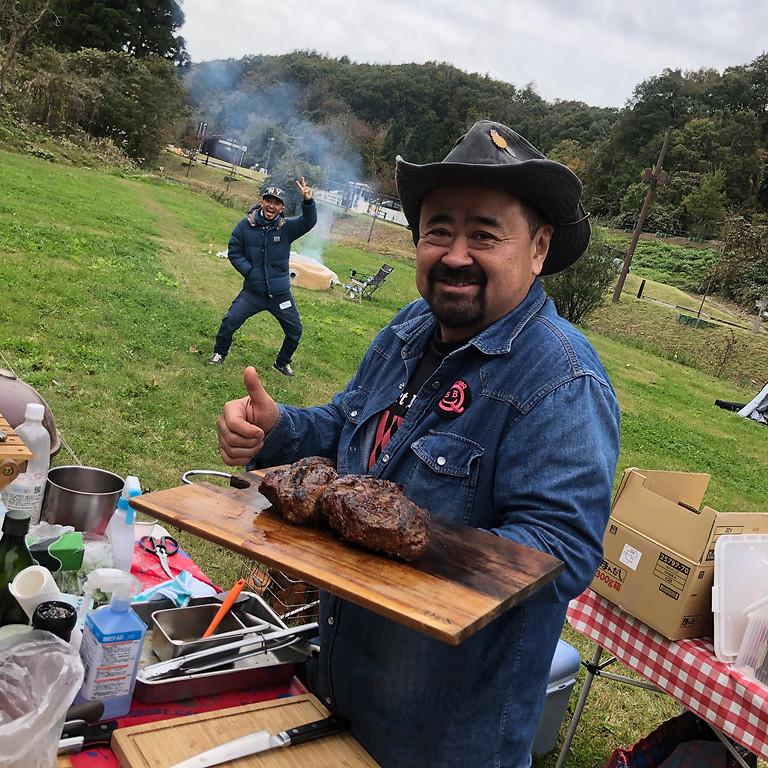 「音楽の森」BBQ+キャンプ泊