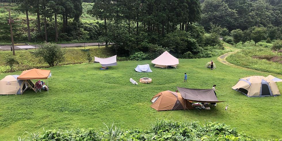 キャンプの楽校 超初心者限定!一晩で達人になれるキャンプ講座 夏バージョン