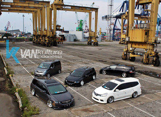 VANkulture Indonesia (official) photo session at the port of Tanjung Priok - North Jakarta