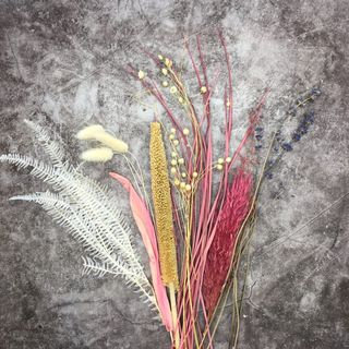 CRAFT FLOWERS (PINK & NATURAL)