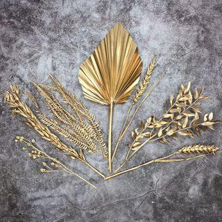 CRAFT FLOWERS (GOLD)
