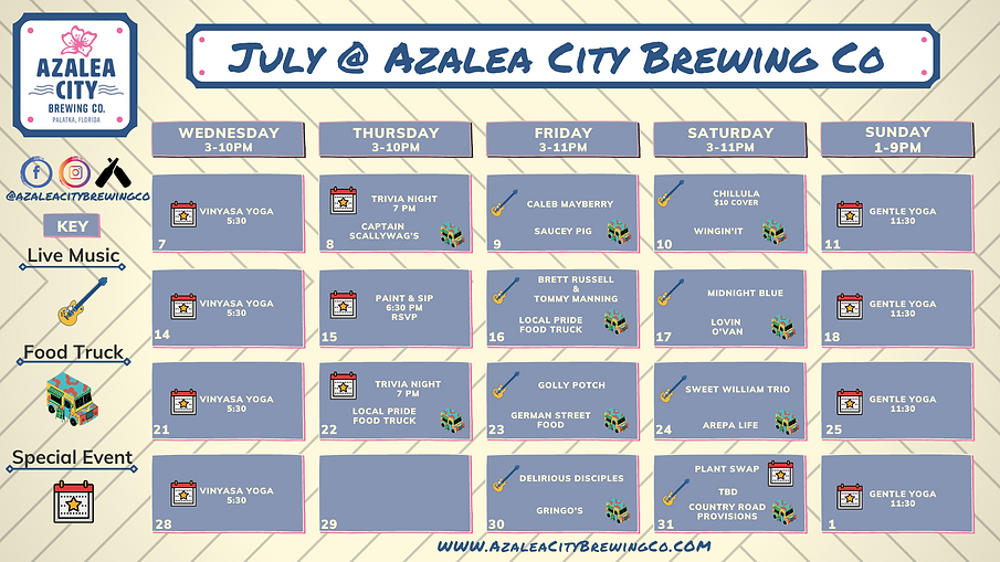 Current 711 Azalea City Brewing Company  Calendar (1).png