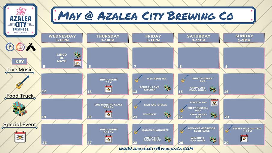 Copy of March Azalea City Brewing Compan