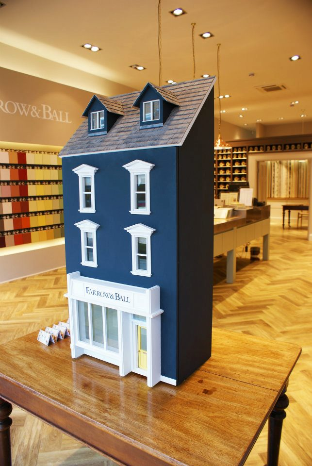Farrow & Ball Window Display