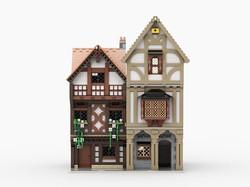 Lego Tudor House