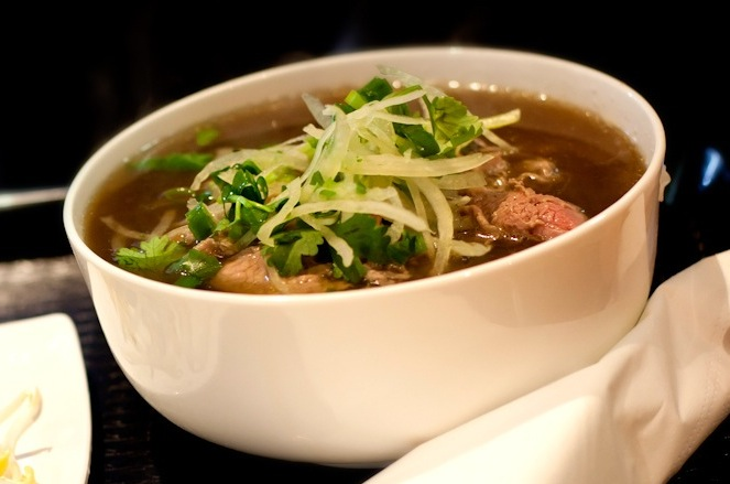 Pho Tai - Rare Beef Noodle Soup