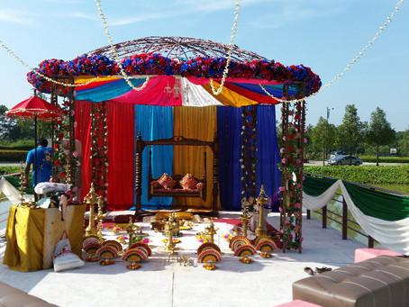 Lake View Wedding Decoration
