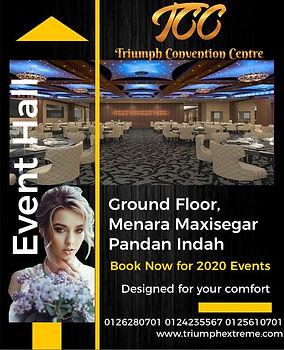 Triumph Convention Centre TCC Event Venu