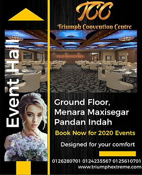 Triumph Convention Centre TCC Event Venu