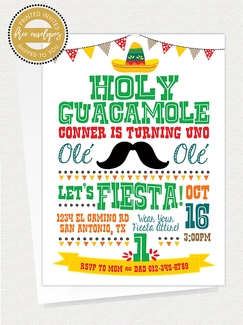 Holy Guacamole Party
