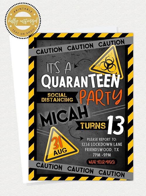 QuaranTEEN Party
