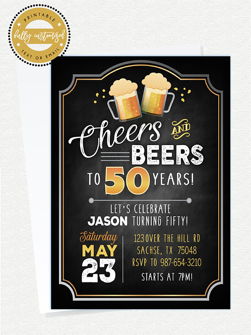 Beers & Cheers Party