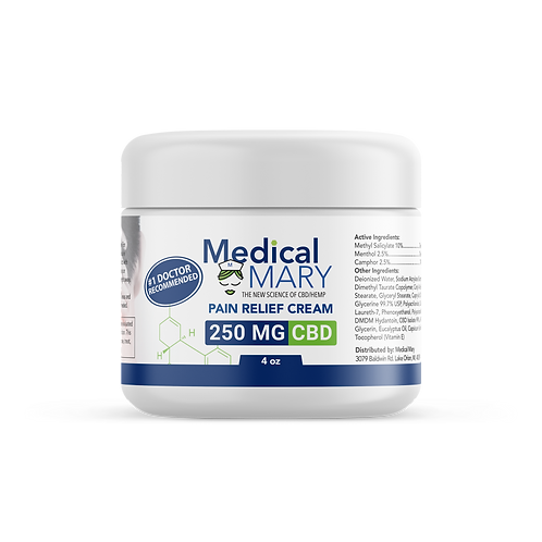 Pain Relief Cream 250 MG