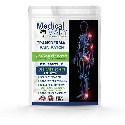 Transdermal Pain Patch