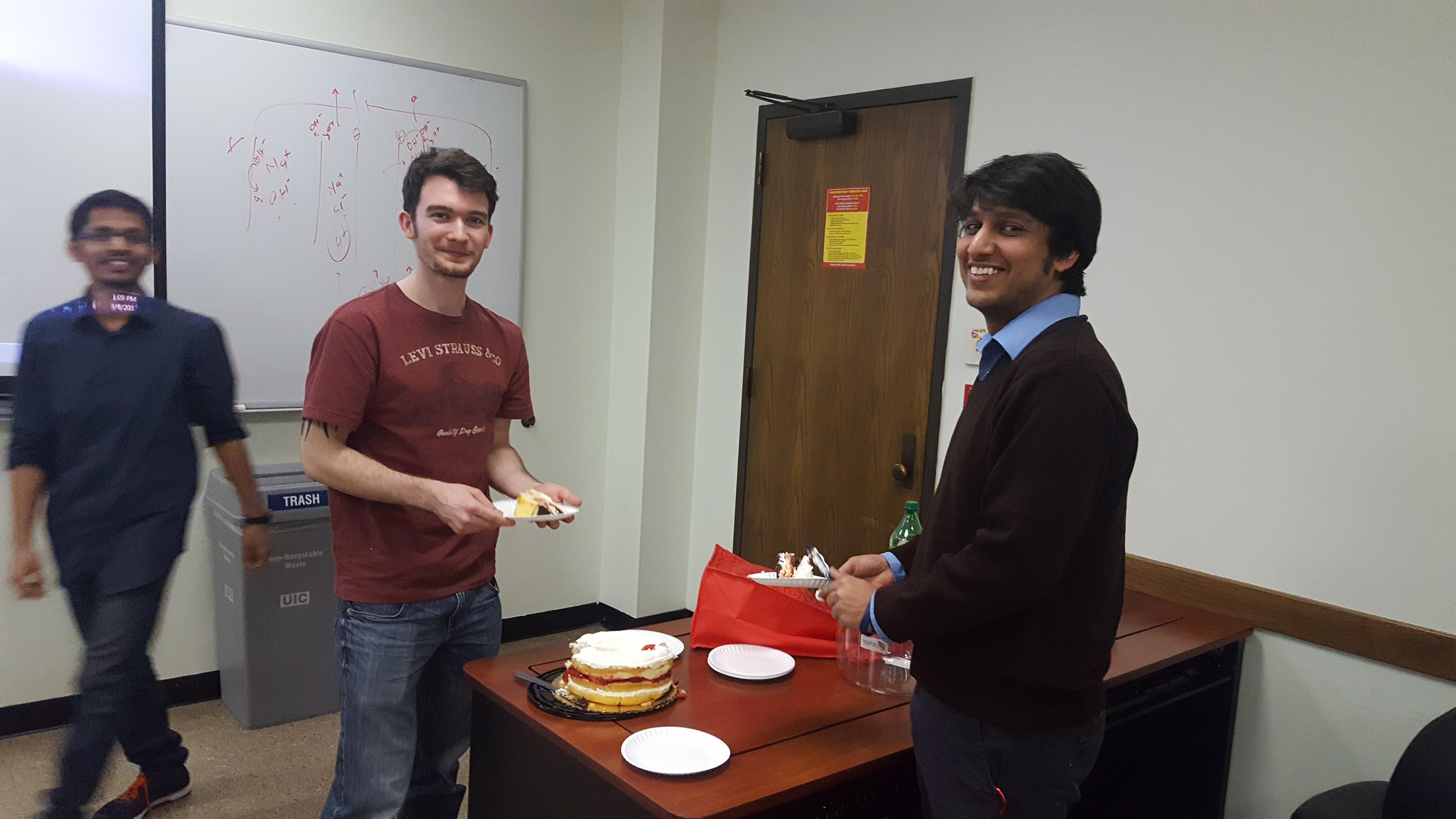 Happy Birthday, James & Aditya!