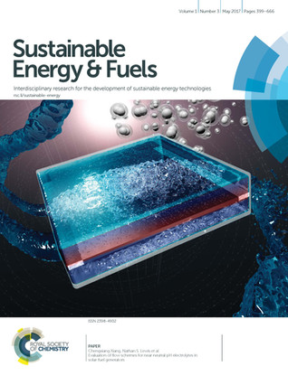Sustainable Energy & Fuels Cover