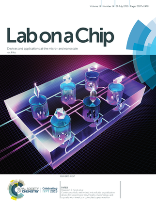 Lab on a Chip Cover