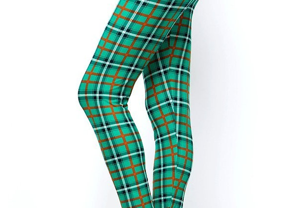 Green and Orange Plaid (14-20)