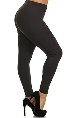 Curvy Full Length Leggings
