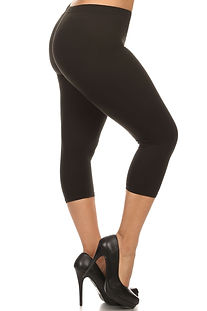 Queen Size Capri Leggings