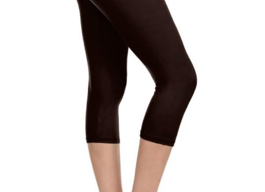 Solid Brown Capri (14-20)