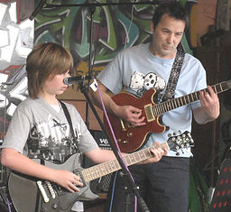 dove studio, music lessons by Phil Graves