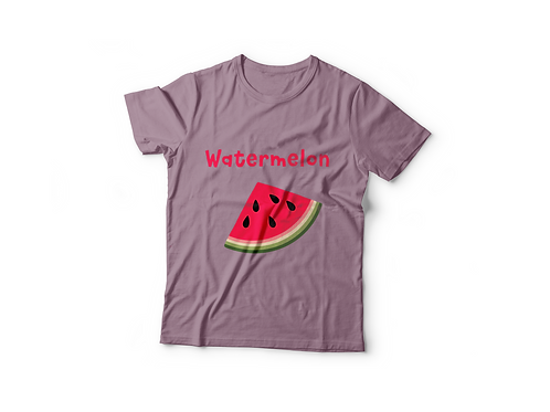 Healthy Habits T-Shirt - Watermelon