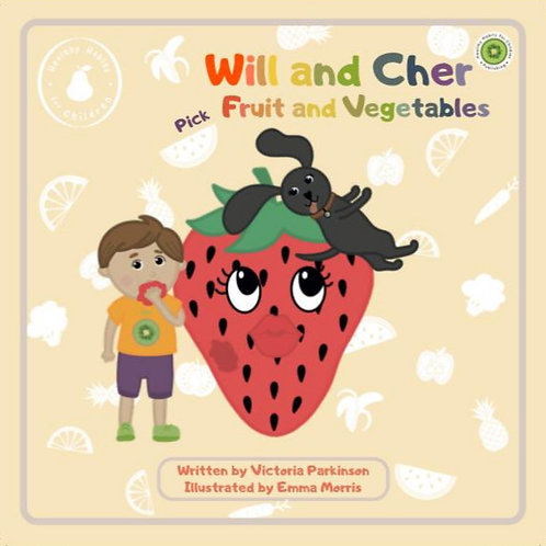 Will and Cher Pick Fruit and Vegtables