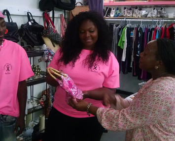 The Cancer Thrift Store of Beaufort Catches The Eye of a Star