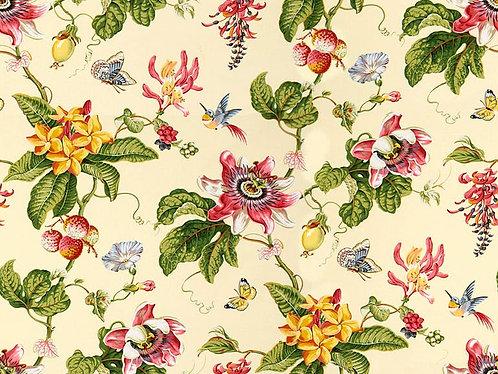 Parfum D Ete Birds Cotton Print