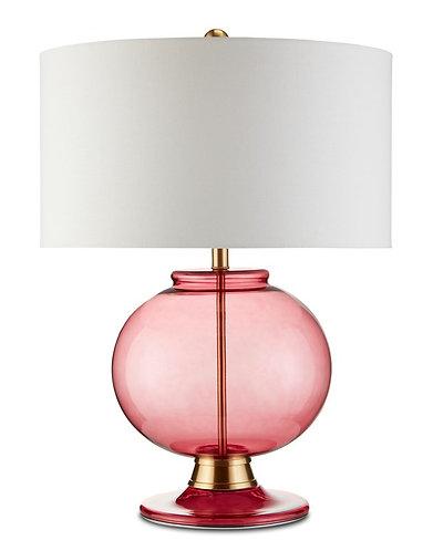 Jocasta Red Table Lamp