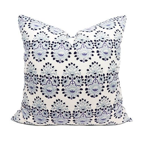 Lanka in Lapis Pillow Cover