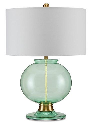 Jocasta Green Table Lamp