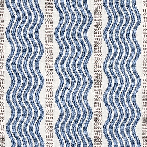 Sina Stripe in Blue