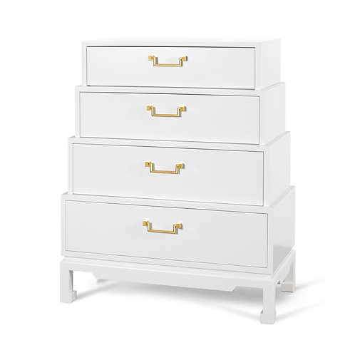 Jasmine Tall 4 - Drawer By Bungalow5