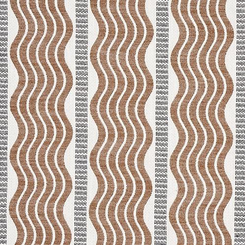 Sina Stripe in Brown